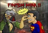 FINISH HIM! (Fatality, variants and parodies)