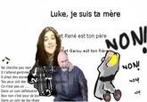 """""""Luke, je suis ton père"""" cartoon parodies"""