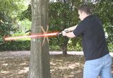 Lightsaber duels