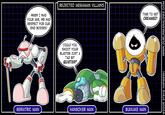 Rejected Megaman Villains