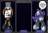 Rejected Megaman Villains