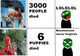 Girl Throws Puppies into a River