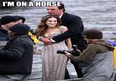 Sarah Jessica Parker Looks Like a Horse