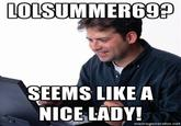 Lonely Computer Guy / Net Noob