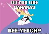 Do you Like Bananas?