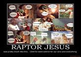 Raptor Jesus