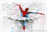 Dancing Spider-Man