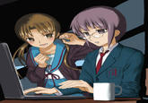 The Gender-Flip of Haruhi Suzumiya