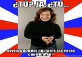 Passive Aggressive Puertorrican Mom