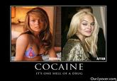 Cocaine Is A Hell Of A Drug
