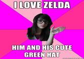 Link & Zelda Confusion / What if Zelda was a girl?