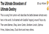 Ultimate Showdown of Ultimate Destiny