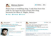 Brian Presley and Melissa Stetten Twitter Scandal