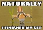 """Naturally, I Finished My Set"" / Cameron Leslie"