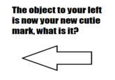 The Object To Your Left