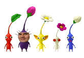 I feel just like a purple pikmin.