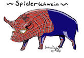 Spider-Pig / Harry Plopper