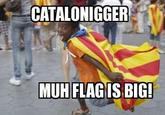 Catalonia is black