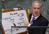 Netanyahu's Cartoon Bomb