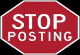 Stop Posting