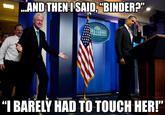 Inappropriate Timing Bill Clinton