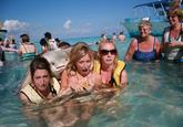 Stingray Photobomb