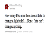 People for the Ethical Treatment of Animals (PETA)
