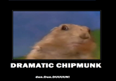 Dramatic Chipmunk