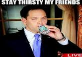 Marco Rubio's Water Break