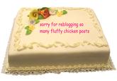 Peyton's Fluffy Chicken