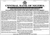 Nigerian Scams