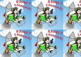 Rocket Lawnchair