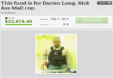 Darien Long The Kickass Mall Cop