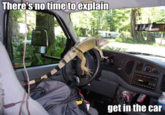 There's No Time To Explain