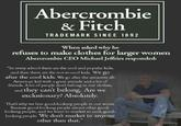 Abercrombie Anti-Plus-Size Controversy