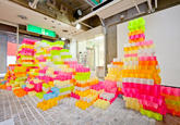 Sticky Note Art