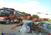 Road Raging Lady