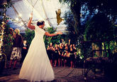 Brides Throwing Cats