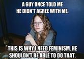 Who Needs Feminism?