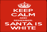 Santa Claus is White