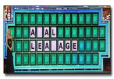 Wheel of Fortune Puzzle Board Parodies