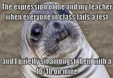 Awkward Moment Seal