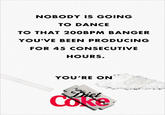 "Diet Coke's ""You're On"" Ad"