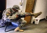 The Leg-Gun Pose