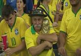 Sad Brazilian Fan