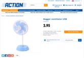 Action Bagger fan