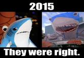 Super Bowl XLIX Halftime Shark