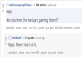 Warlizard Gaming Forum