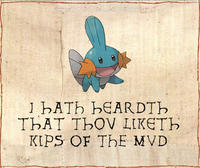 I Herd U Like Mudkips