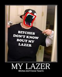 Shoop Da Whoop / IM A FIRIN MAH LAZER!!